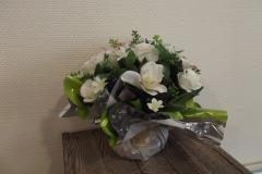Bouquet fleurs blanches