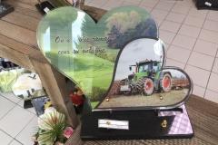Plaque altu tracteur