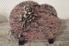 Petite plaque nuage. Bronze rose