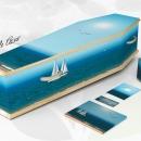 Cercueil Personnalisé Azur
