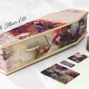 Cercueil Personnalisé Fleurs-été