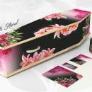 Cercueil Personnalisé Floral